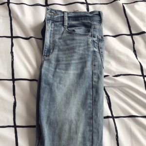 Garage High Rise Jeans w/ Knee rips